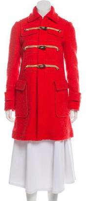 DSQUARED2 Wool & Mohair-Blend Coat