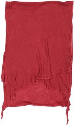 Balmain Red Cotton Scarves