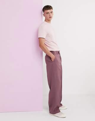 Hatch Asos Design ASOS DESIGN wide leg cross smart trousers