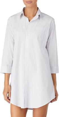 45934fdd8b6 Lauren Ralph Lauren Cotton Poplin Sleep Shirt