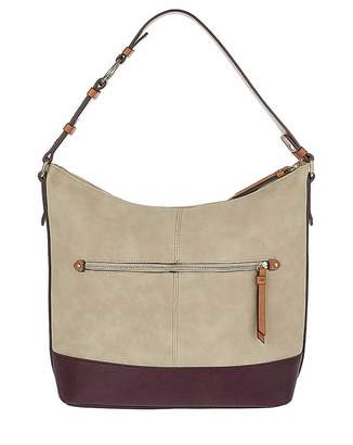 Accessorize Suedette Hobo Bag
