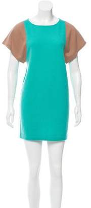 Allude Colorblock Cashmere Dress w/ Tags