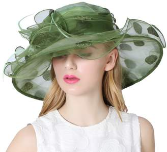at Amazon Canada · Church s June s Young Women Lady Hat for Kentucky Derby  Tea Party Wedding Color a4da363a1719