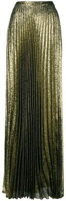 Saint Laurent long pleated skirt