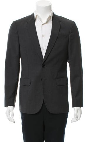 Paul Smith PS by Paul Smith Wool Two-Button Blazer