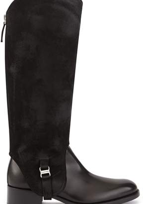 Sartore Ankle boots with removable spats