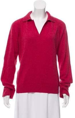 Loro Piana Cashmere Point-Collar Sweater