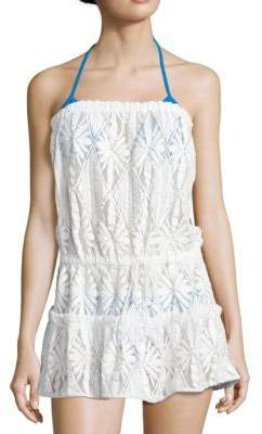 Milly Becca Crocheted Coverup