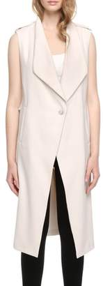 Soia & Kyo Longline Draped Vest