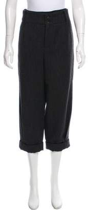 Thakoon Wool High-Rise Pants