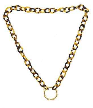 Fornash Tortoise Bamboo Necklace