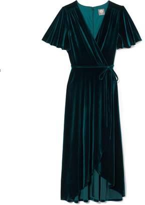 Vince Camuto Velvet Wrap Dress