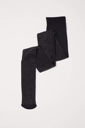 H&M Glittery Tights - Black