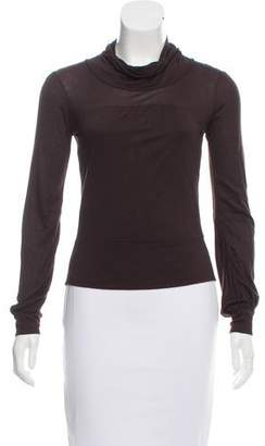 Diane von Furstenberg Long Sleeve Micah Top