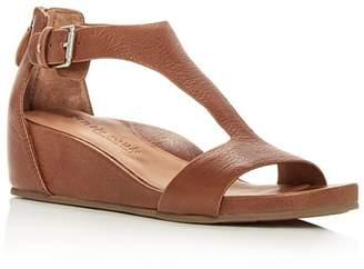 Kenneth Cole Gentle Souls by Gentle Souls Women's Gisele Leather Platform Wedge Sandals