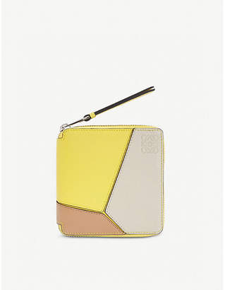 Loewe Puzzle leather wallet