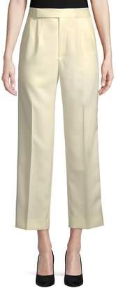 Celine Women's Twill Cropped Pants