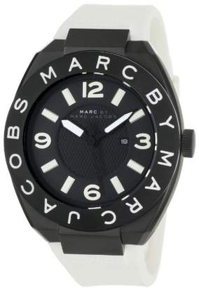 Marc by Marc Jacobs Women's MBM5515 Royale White Silicone Dial Watch