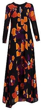 Dodo Bar Or Women's Ninette Long-Sleeve Printed Caftan