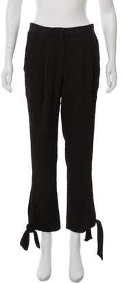 Tibi Lace Wide-Leg Pants