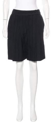 Anna SuiAnna Sui Pleated Knee-Length Shorts w/ Tags