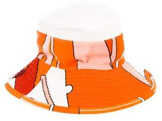Hermes Egerie Linen and Cotton Beach Hat w/ Tags