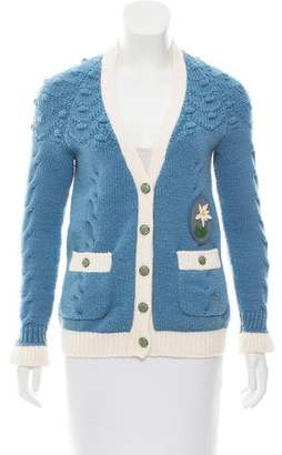 Chanel Paris-Salzburg Wool Cardigan