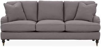Robin Bruce Brooke 3-Cushion Sofa - Charcoal Crypton