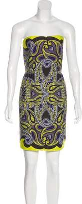 Lanvin Strapless Mini Dress