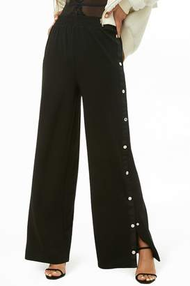 Forever 21 Tearaway Wide-Leg Pants