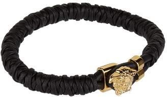 Leather Medusa Bracelet