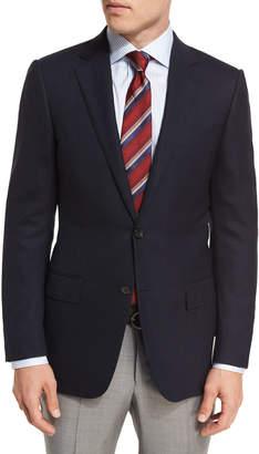 Ermenegildo Zegna Milano Easy Fit Cool Effect Wool Sport Coat, Navy