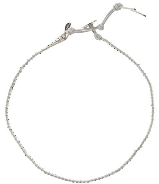 M. COHEN - Beaded double wrap bracelet