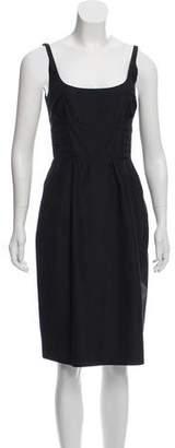 Marc Jacobs Lace Up Back Sleeveless Dress