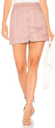 Majorelle ARIAH ボタンアップミニスカート