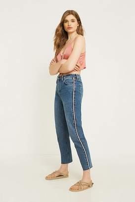 BDG Side Stripe Mom Jeans