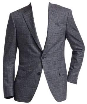 Saks Fifth Avenue COLLECTION Glen Check Suit