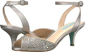 Betsey Johnson Blue by Women's SB-Royal Heeled Sandal