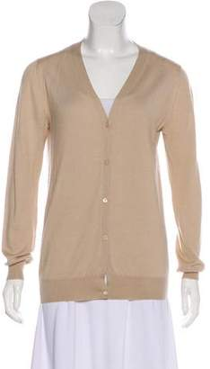 Prada Lightweight Button-Up Cardigan