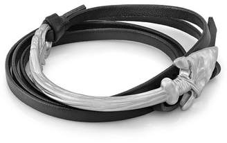 ROOM101 Arrow Leather Wrap Bracelet
