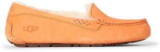 UGG Bold Orange Ansley Suede Slippers