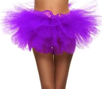 Simplicity Women's Cosplay Costume Ballet Warrior 5K, 10K Fun Dash Run Adult Tutu