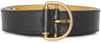 Burberry Grainy Leather D-ring Belt