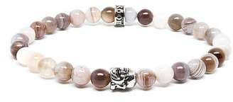 ROOM101 Agate Buddha Stretch Bracelet