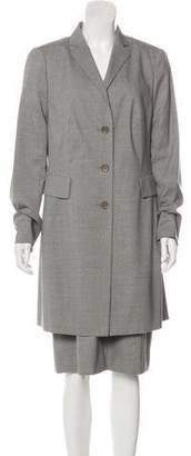 Akris Punto Wool Dress Set