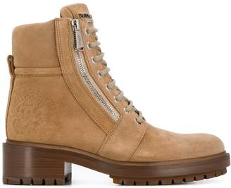Balmain zipped Ranger ankle boots