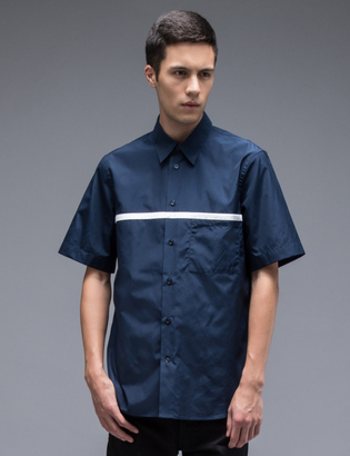 Marni S/S Shirt With Chest Stripe $348 thestylecure.com