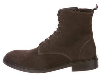 The Kooples Suede Zip Boots w/ Tags