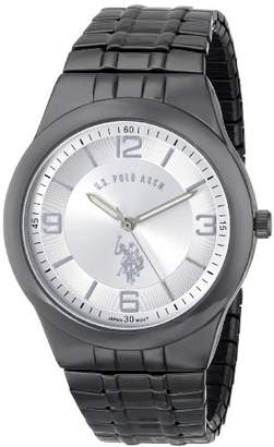 U.S. Polo Assn. Classic Men's USC80027 Gun-Metal Analogue Dial Expansion Watch