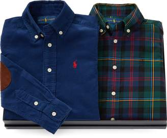 Ralph Lauren Holiday Shirt 2-Piece Gift Set